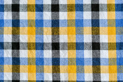 Plaid linen background Royalty Free Stock Photo