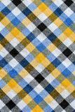 Plaid linen background Royalty Free Stock Image