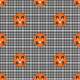 Plaid material button seamless pattern Royalty Free Stock Image