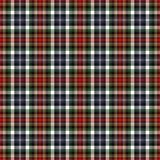 Plaid noir et rouge Photos libres de droits