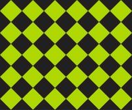 Plaid noir et vert de cage Fond de Ska Indicateur de chemin Dirigez la configuration sans joint illustration stock