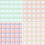 Plaid pastel Royalty Free Stock Photos