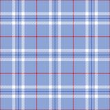 Plaid patriotique Images libres de droits