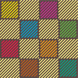 Plaid pattern. A vector illustration royalty free illustration