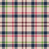 Plaid pattern Royalty Free Stock Photos