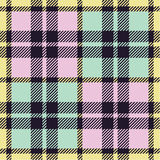 Plaid pattern. A vector illustration vector illustration