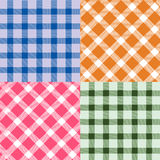 Plaid pattern Royalty Free Stock Photo
