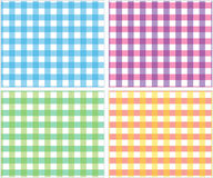 Plaid pattern preppy tartan checkered. Plaid checkered pattern. Tartan is a pattern consisting of criss-crossed horizontal and vertical bands in multiple colours Stock Photos