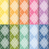 Plaid pattern. Set of plaid pattern eamless background, vector illustration vector illustration