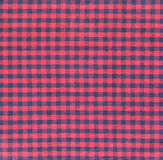 Plaid pattern textile Royalty Free Stock Photography