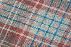 Plaid Pattern Stock Photo