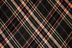 Plaid Pattern. Up close of a plaid pattern on wool Royalty Free Stock Images