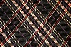 Plaid Pattern. On Wool fabric Royalty Free Stock Image