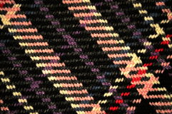 Plaid Pattern. On Wool fabric up close stock images