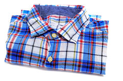 Plaid patterned shirt Stock Photo