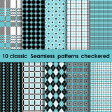 Plaid patterns classic Stock Photo