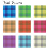 Plaid Pattersn Stock Photography