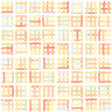Plaid picnic squares seamless pattern Royalty Free Stock Photos