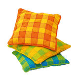 Plaid pillows Royalty Free Stock Photography