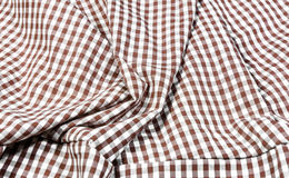 Plaid red dress Stock Images