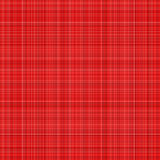 Plaid rouge Images stock