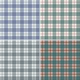 Plaid scozzese astratto Fotografia Stock