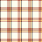 Plaid Seamless Pattern Stock Photography