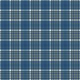 Plaid Seamless Pattern. Plaid design in colors of blue royalty free illustration