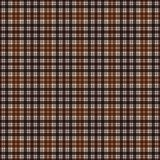 Plaid Seamless Pattern. Plaid design in colors of brown royalty free illustration