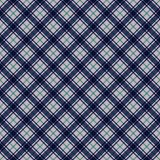 Plaid Seamless Pattern. Plaid design in colors of pink, aqua, and navy blue royalty free illustration