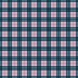 Plaid Seamless Pattern. Plaid design in colors of pink, magenta, aqua, and navy blue vector illustration