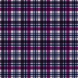 Plaid Seamless Pattern. Plaid design in colors of pink, magenta, purple, and navy blue vector illustration