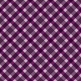 Plaid Seamless Pattern. Plaid design in colors of pink, magenta, purple, and navy blue royalty free illustration