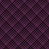 Plaid Seamless Pattern. Plaid design in colors of plum, purple, pink, and magenta vector illustration
