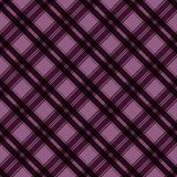 Plaid Seamless Pattern. Plaid design in colors of plum, purple, pink, and magenta royalty free illustration