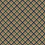 Plaid Seamless Pattern. Plaid design in a variety of autumn colors stock illustration