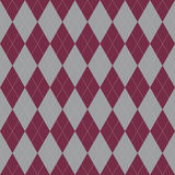 Plaid seamless pattern.  Vector ornament formed in a twill weave. Dyed in different colors, resulting in a checkered pattern consisting of diagonal stripes Stock Images