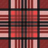 Plaid seamless tartan pattern. Twill texture. Stock Photos