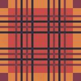 Plaid seamless tartan pattern. Twill texture. Seamless tartan pattern. Plaid red yellow blue palette repeated tartan pattern. Twill texture Vector illustration Royalty Free Stock Photo
