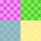 Plaid set Royalty Free Stock Images