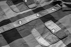 Plaid shirt Stock Photos