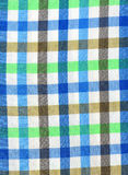 Plaid shirt macro shot Stock Images