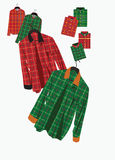 Plaid shirt Royalty Free Stock Images
