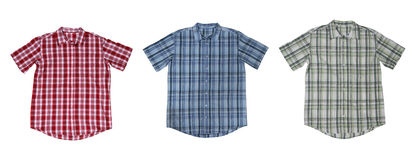 Plaid Shirts Royalty Free Stock Image