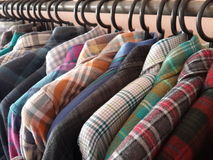 Plaid shirts Stock Photos