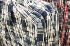 Plaid shirts Royalty Free Stock Photos
