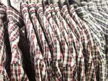 Plaid shirts Stock Photo