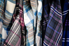 Plaid Skirts for Sale Stock Photography