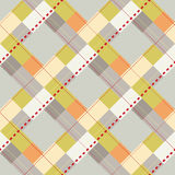 Plaid Swatch Stock Photo