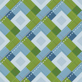 Plaid Swatch Stock Image